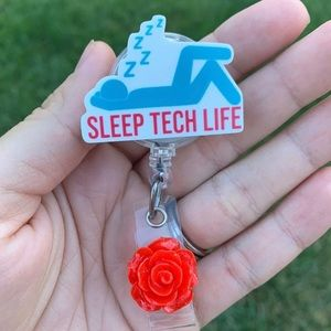 Sleep Tech Life Badge Holder